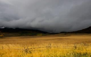 A winter storm in Colorado.