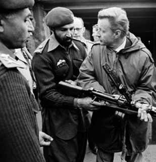 Osama bin-Laden (Col. Tim Osman) with Ziggy Brzezinski