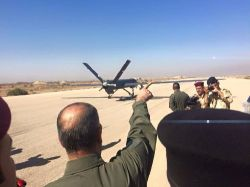 The Iraqi defense minister personally supvervised the first combat test