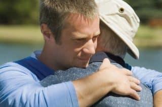fatherSon-hug