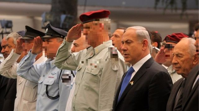 What Israeli general's number is 34356578765Az231434 ?