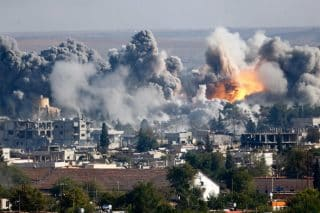 Cities like Kobani had to be destroyed to save them