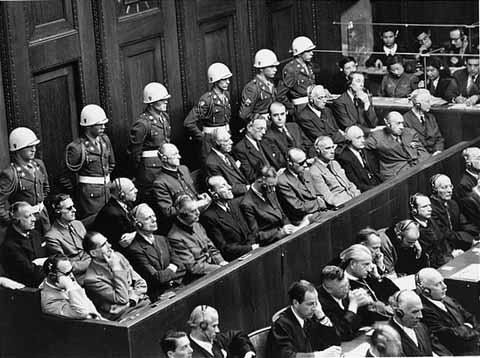 Nuremburg defendants