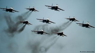 Russian sorties over Syria