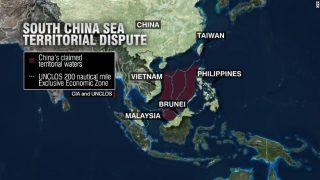 south-china-sea map