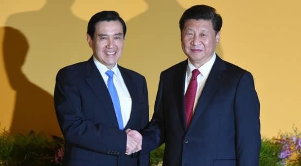 China-Taiwan shift