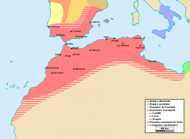 Morocco during the time of the Muwahiddun (Almohads)