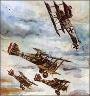 "WWI dogfighters were called ""fur balls"""