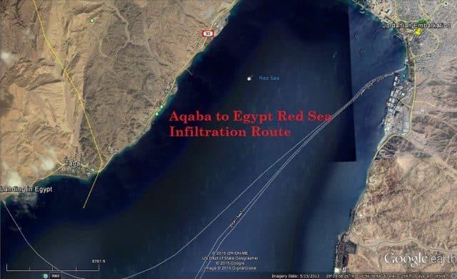 Aqaba, Jordan crossing point by ferry
