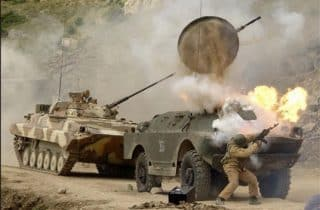 American TOW missiles are supporting the terorrists in Syria