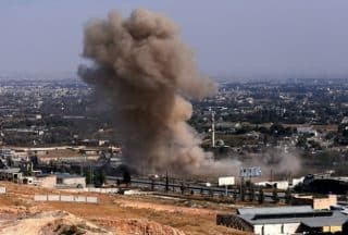 Air strikes have helped keep Syrian casualties low, and morale up