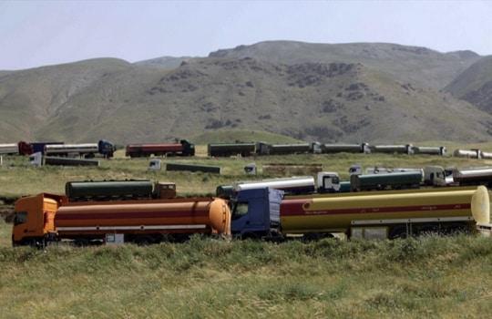 Oil tanker fleet heading to Iraq in broad daylight under watchful eye of American satellites
