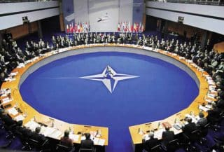 NATO is now in play as a threat to the West itself, a sad state of affairs