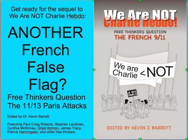 "I am working on a sequel to ""We Are Not Charlie Hebdo"""