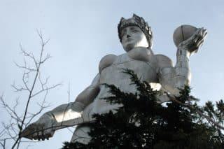 Mother Georgia statue