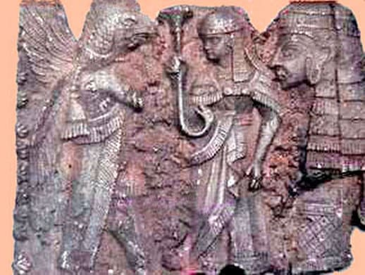 Reptilian-Hybrid-Sumerian-Gods