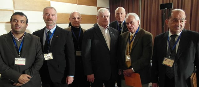 The VT A-team at the Syrian counter-terrorism conference ... Dec 01, 2014 (four in the middle)