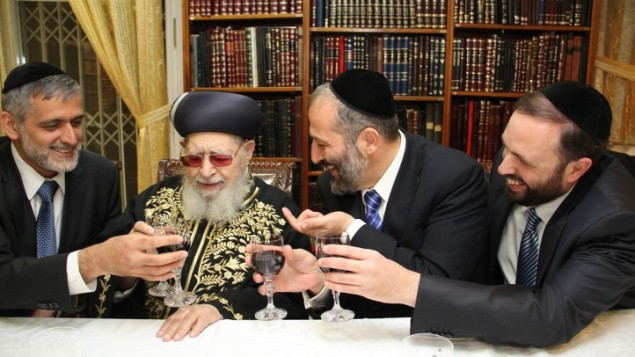 """""""Mr. Yosef, tell us how we are going to manipulate the Goyim. And cheers for that."""""""