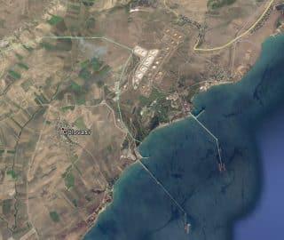 The Ceyhon oil terminal in Turkey