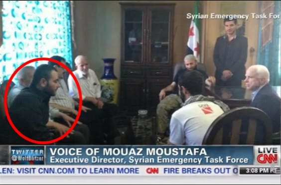 McCain meeting with ISIS commander, al Bagdadi...promising him weapons and an endless flow of new Jihadis through Turkey, Jordan and Israel